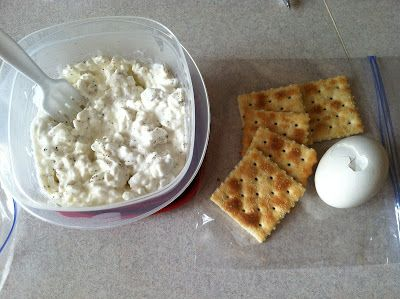 {partners in crime}: 3 Day Military Diet Day 2: LUNCH-- 1 CUP COTTAGE CHEESE (OR 1 SLICE CHEDDAR CHEESE), 1 HARD BOILED EGG, 5 SALTINE CRACKERS