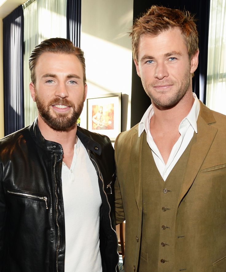 Chris Evans Wished Chris Hemsworth Happy Birthday with a Hilarious Avengers Blooper from InStyle.com