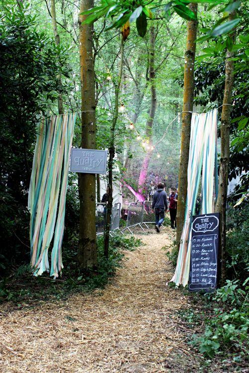 Festival Wedding Inspiration � �In the Woods� Festival in Kent