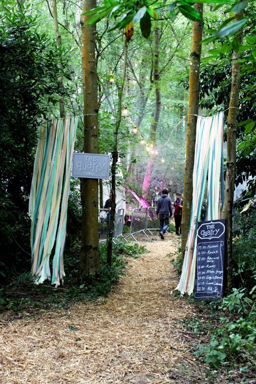 Festival Wedding Inspiration � �In the Woods� Festival in Kent