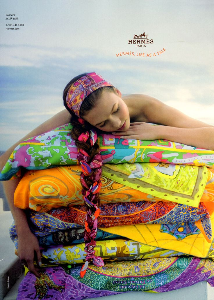 Karlie Kloss for Hermes Spring/Summer 2010