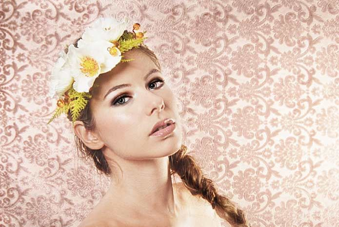Wicked by Ipek Yaylacioglu Bridal millinery hats & hair accessory Flower crown