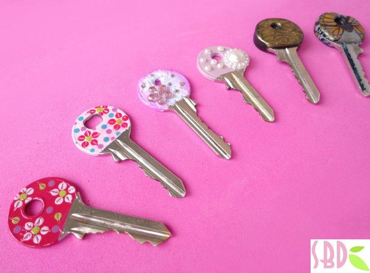 Charming 3 Modi Per Decorare Le Chiavi   3 Methods For Keys Decoration