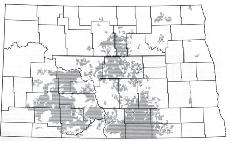 Germans from Russia settlements in North Dakota