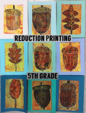 "Let me once again proclaim that ""I Love Printmaking!"" It is such a fun process and I love the surprise each time you pull a print. Printmaking is a way of making multiple pieces of art by creating a p"