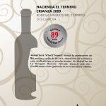 Certificado que avalan los puntos otorgados a @Hacienda Furniture El Ternero en la Guía de Vinos Xtreme 2014 para Viñedos del Ternero