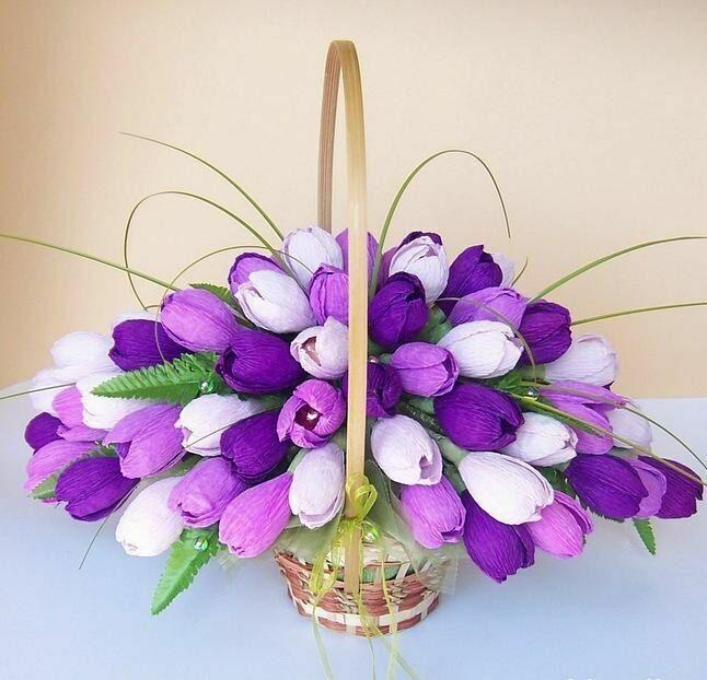 букет из конфет тюльпаны - Поиск в Google