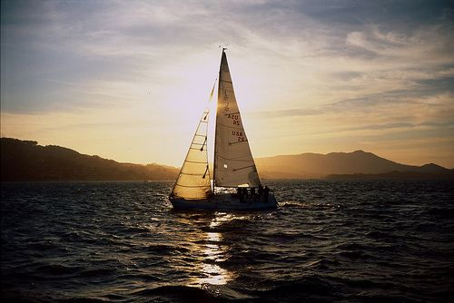 Sunset captured perfectly: Buckets Lists, Dreams, Sailboats Festivals, Around The World, Nautical, Beautiful Things, Photography, Hot Summer, Sailing Boats