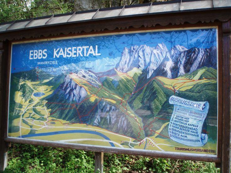 Kaisertal - Karte