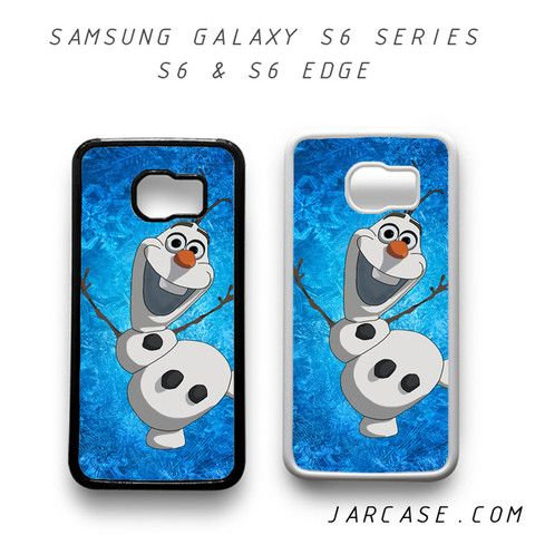 olaf frozen Phone case for samsung galaxy S6 & S6 EDGE
