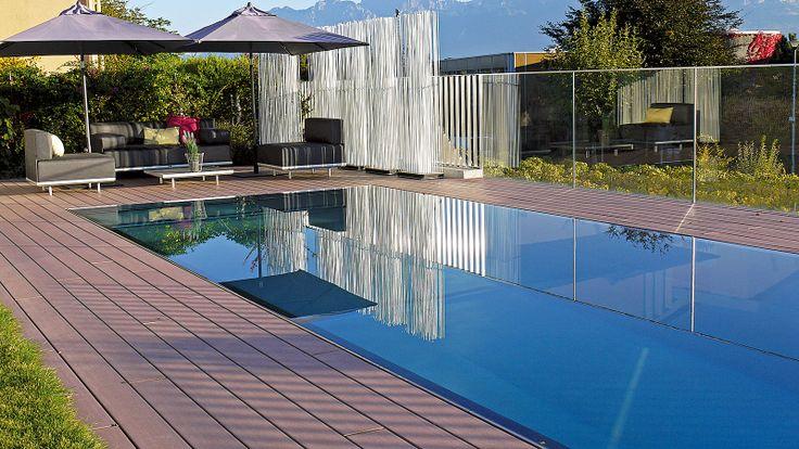 Les 17 meilleures images concernant piscine sur pinterest for Mini piscine miroir