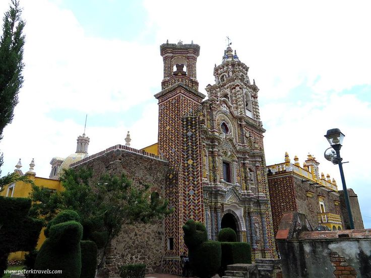San Francisco de Acatepec //1560-1760//Puebla, Mexico