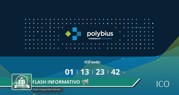 Flash Informativo: 24 mil personas han invertido USD25 millones en ICO de Polybius | EspacioBit -  https://espaciobit.com.ve/main/2017/07/03/flash-informativo-24-mil-personas-han-invertido-usd25-millones-en-ico-de-polybius/ #Polybius #ICO #Ends #Tokens