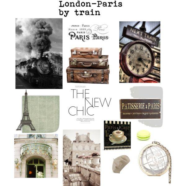 London-Paris by train