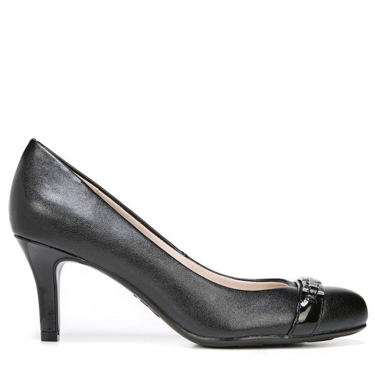 Lifestride Women's Lover Medium/Wide Pump Shoes (Black)