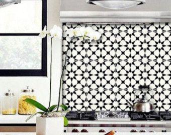 Tuile Sticker cuisine, salle de bain, sol, mur imperméable à l'eau & amovible Peel Stick n: Bx302
