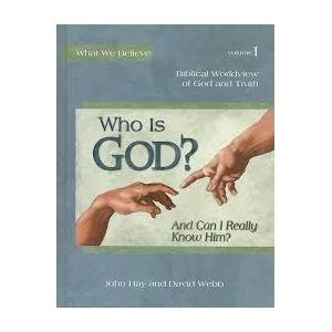 This study of biblical worldview  introduces young people (ages 6-14) to the basic truths of the Christian faith.  The series is designed to help children learn to discern the truth by using God's Word as a lens through which to view the world around them. In volume one, students will meet our loving God who longs for us to know Him and spend time with Him.  Through stories and activities they will come to know and trust God, building an unshakable faith that will last a lifetime.