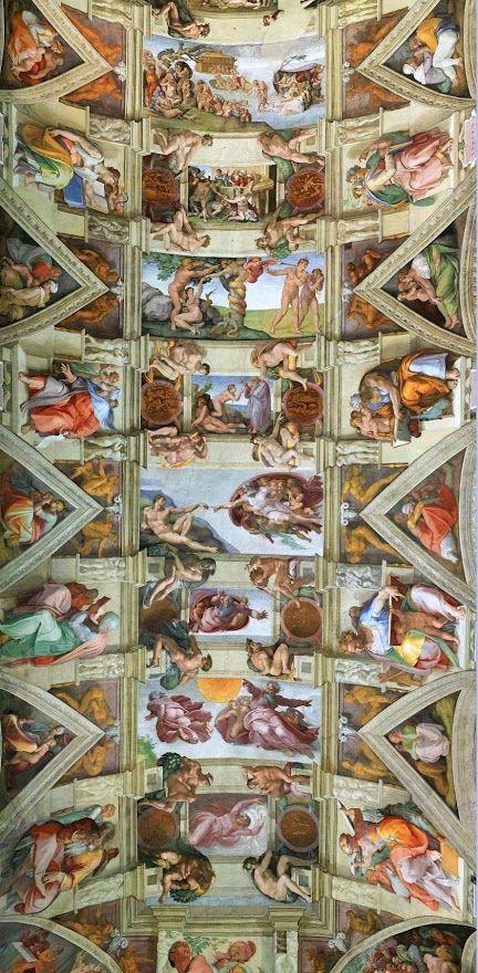 El Juicio Final De Miguel áNgel. Los Frescos Censurados Por El Vaticano.
