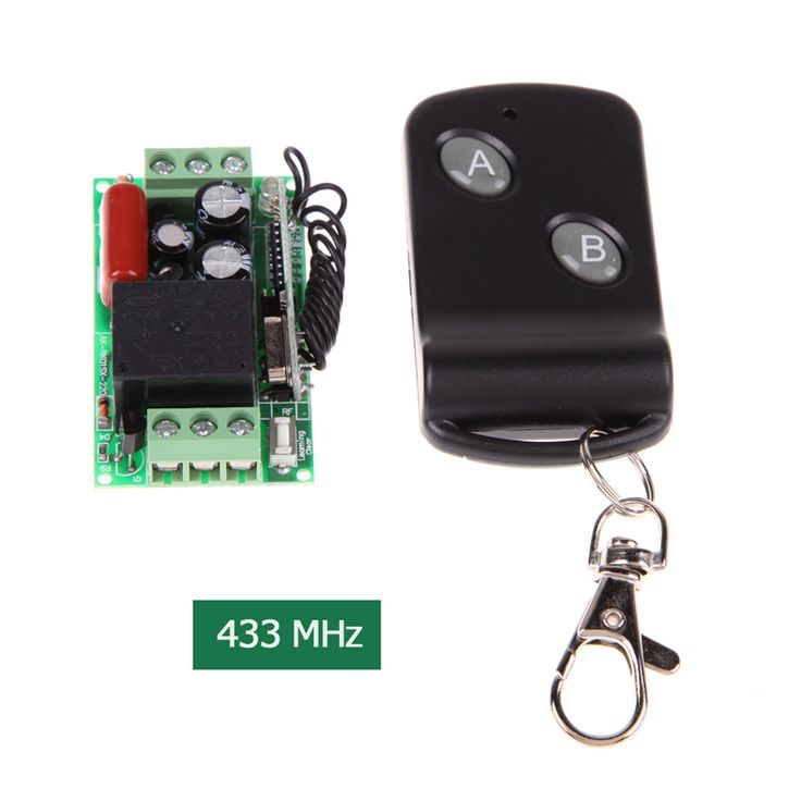 >> Click to Buy << 220V 433MHz Small Single Channel Remote Control Switch with 2 Two Dual Button Remote Control free ship #Affiliate