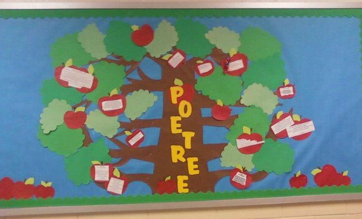 Poet Tree Bulletin Board Display