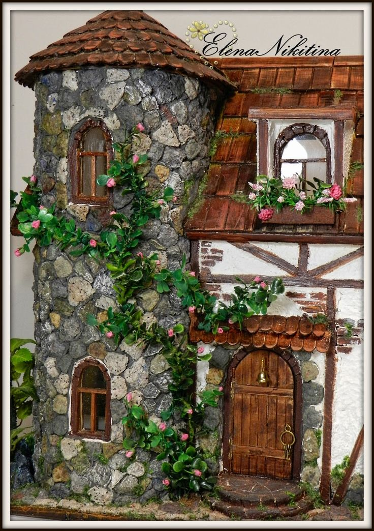 HandMade ElenaNikitina: Дом, почти замок.