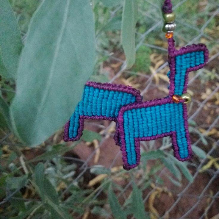 New llama earrings!