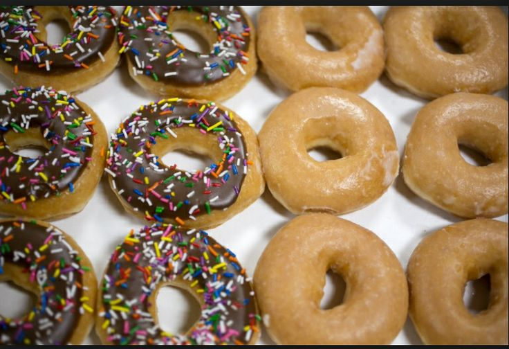 Remember the days when Krispy Kreme donuts were thick and plump? Now they are thinner and skimpier. That might even be okay if there wasn't a price INCREASE,  while the product DECREASED. Typical.