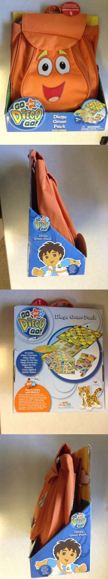 Dora the Explorer 44039: New Nick Jr Go Diego Go Diego Game Pack With 8 Games Ages 3+ -> BUY IT NOW ONLY: $49.99 on eBay!