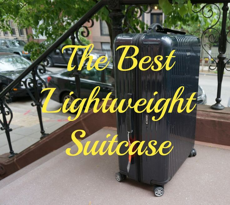 After an exhaustive search, I review my favorite lightweight suitcase.