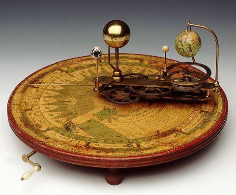 antique planetarium model - Google zoeken