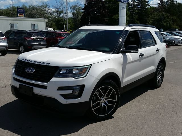 2016 ford explorer sport 2016 ford explorer sport port perry ontario new car for sale. Black Bedroom Furniture Sets. Home Design Ideas
