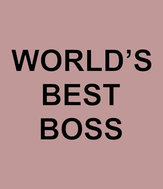 'World's Best Boss'  by Bennellaris