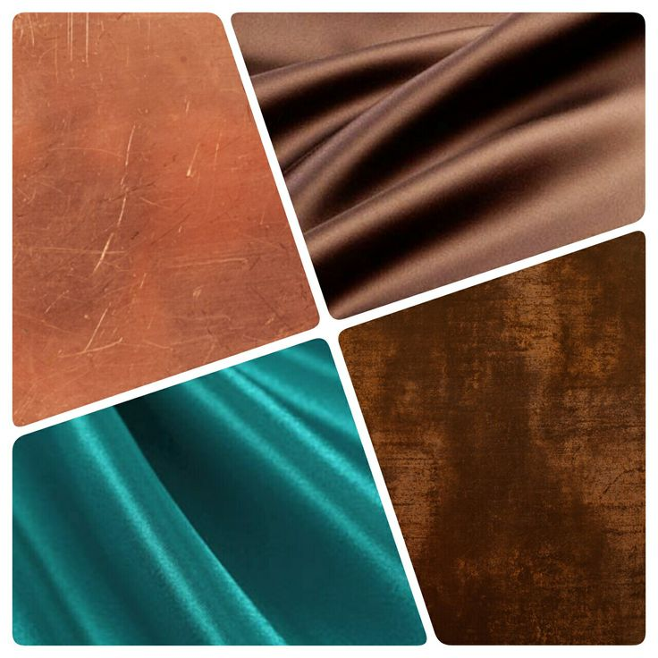 The colour combination that I have chosen for my new look bedroom is chocolate brown, teal, copper and bronze. Makes me think of verdigris.