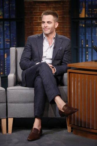my baby Pine on the Late Night With Seth Meyers on May 23