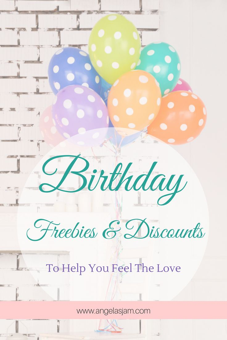 Birthday Freebies & Discounts | To Help You Feel The Love | Memberships | Subscriptions | Newsletters | Vouchers | Discounts | Exclusives