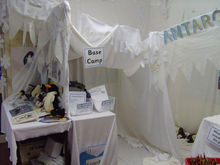 Antarctica role-play area classroom display photo - Photo gallery - SparkleBox