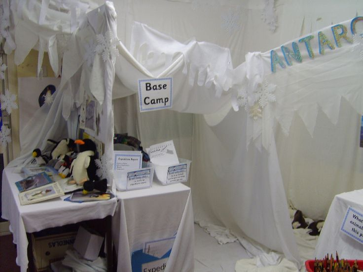 Antarctica role-play area classroom display photo - Photo gallery - SparkleBox