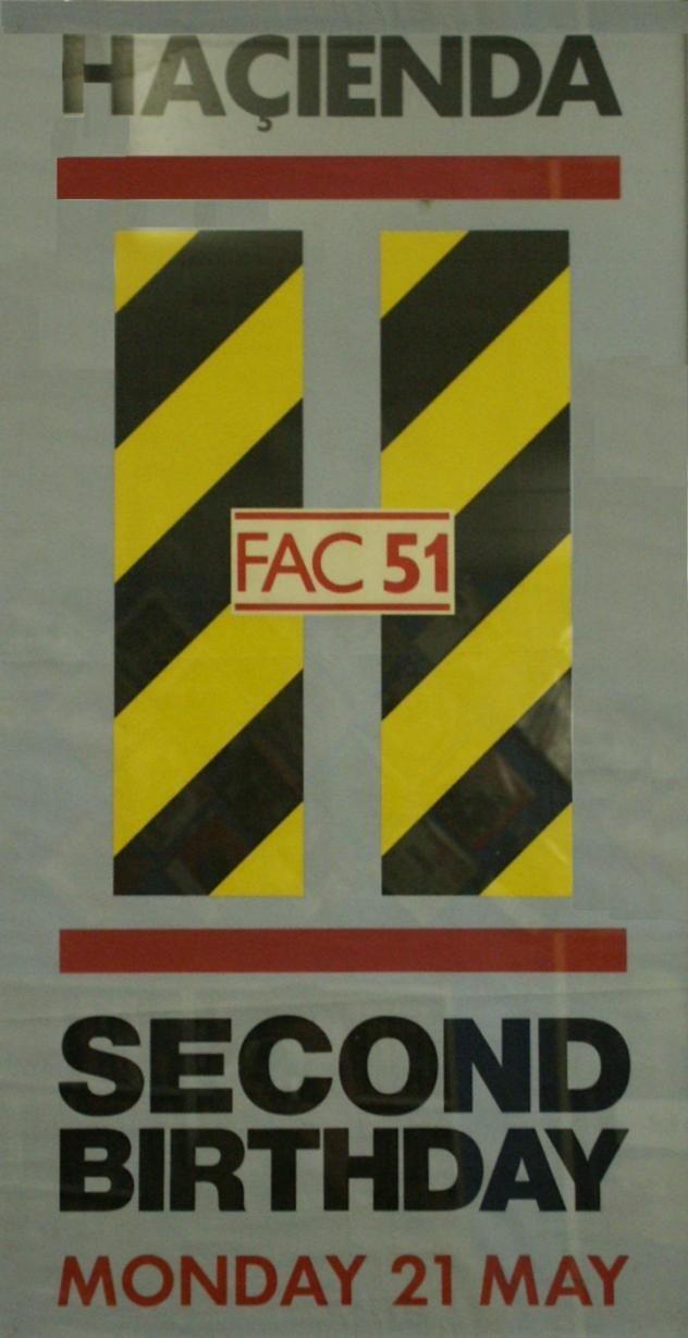 Flyer Goodness: Art of the Factory Records family - The Hacienda, Peter Saville, Joy Division, New Order