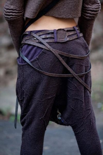 drapey straps and muted colors