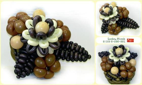 """Шоколадный букет - Цветы и корзины - Клуб """"Воздушные шары"""""""