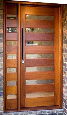timber metal entry door - Google Search