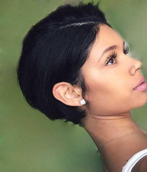 20  Black Girl Short Hairstyles | http://www.short-haircut.com/20-black-girl-short-hairstyles.html