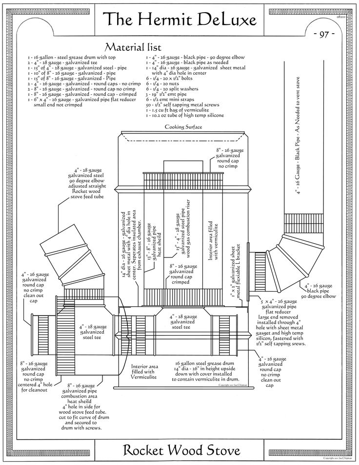 Filename: Hermit DeLuxe - P97 - Rocket Wood Stove 1.3.3.jpg Description - 25+ Best Ideas About Rocket Stoves On Pinterest Diy Rocket Stove