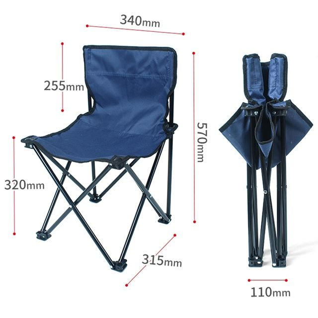 Portable Folding Stool Outdoor Fishing Chair Lightweight Heavy Duty For Fishing Camping Mountaineering Hiking Travel Review With Images Fishing Chair Folding Stool Hiking Trip