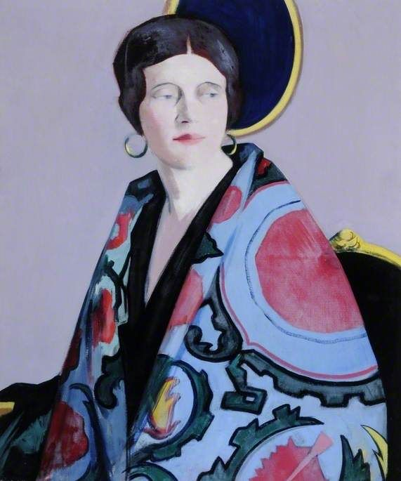 The Athenaeum - The Embroidered Cloak (Francis Campbell Bolleau (F.C.B.) Cadell - )