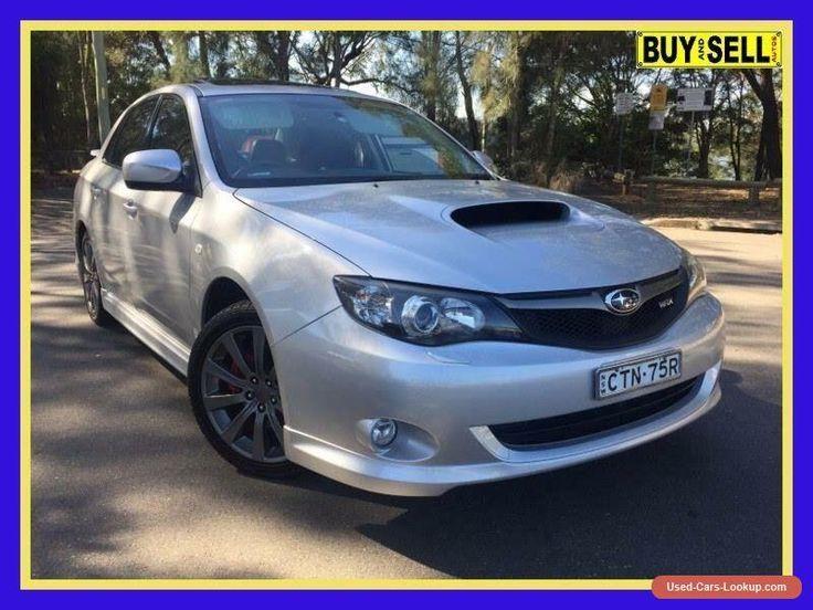 2009 Subaru Impreza MY09 WRX (AWD) Silver Manual 5sp M Sedan #subaru #impreza #forsale #australia