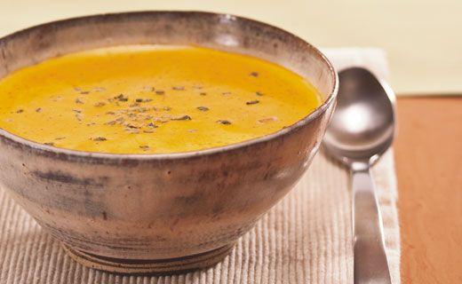 Epicure's Golden Potato and Onion Soup (Gluten-free!)