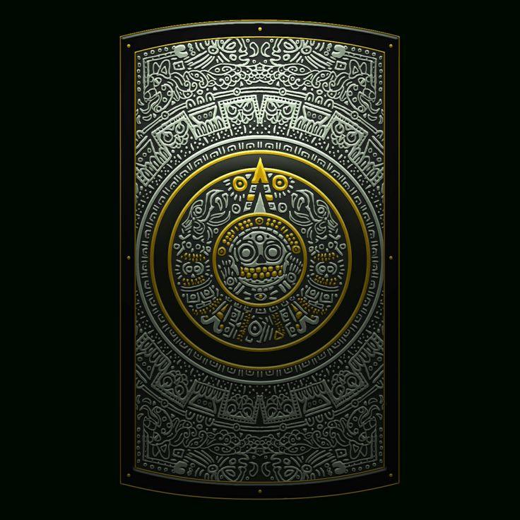 Aztec's Gold / Dark Souls 2′s Shield Design Contest