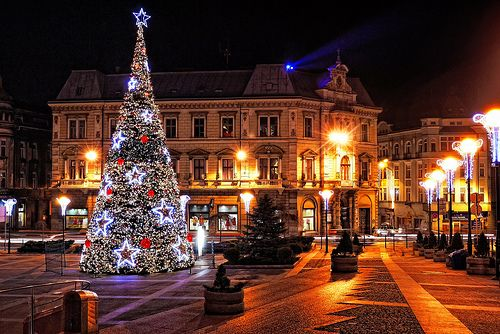 Poland Bielsko Biała in December
