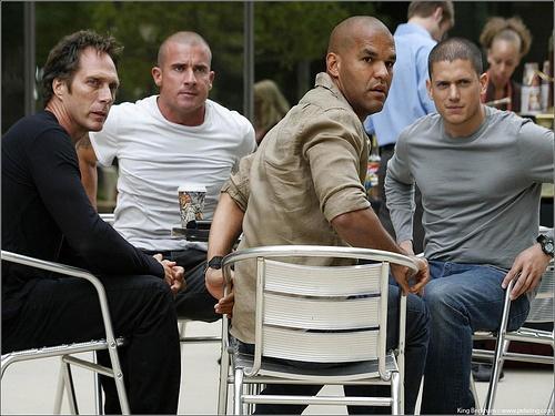 Prison Break - Mahone, Linc, Sucre and Scofield